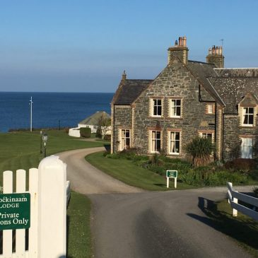 Sleep: Shingle Lodge, Portpatrick, Dumfries & Galloway