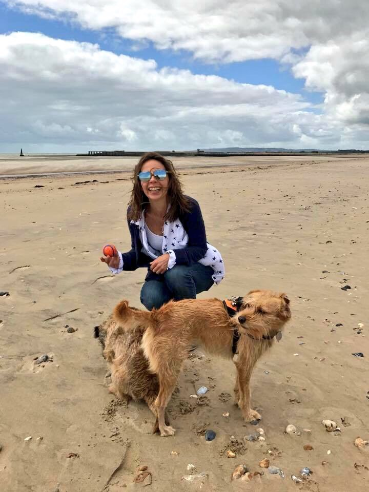 Catch-Up #Catch-Up #CamberSands www.scruffylittleterrier.com