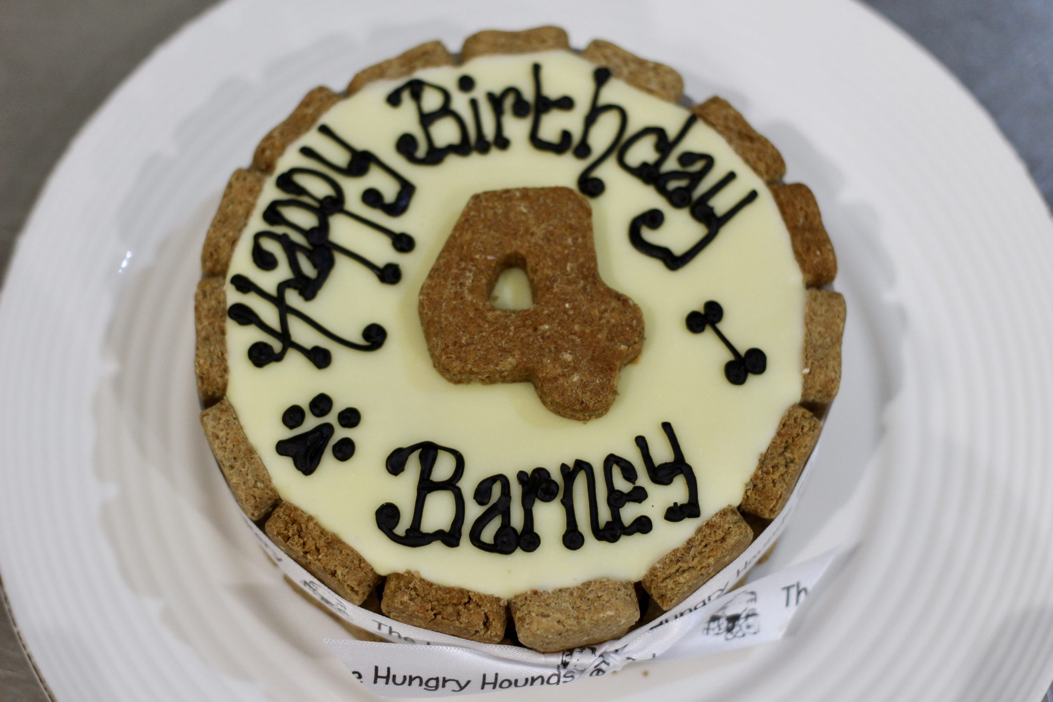 Delicious Doggy Birthday Cake By The Hungry Hounds Bakery Scruffy