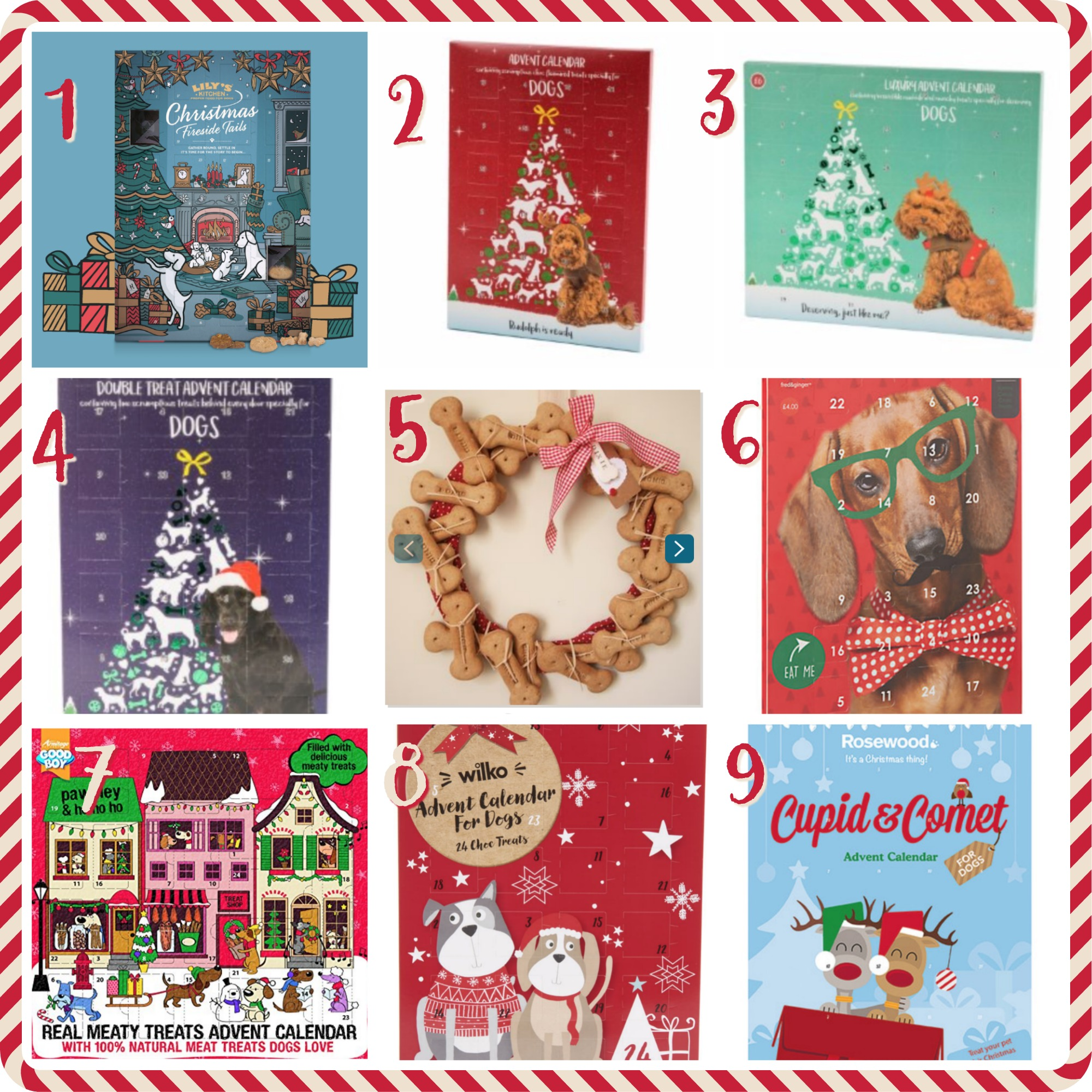 Dog Advent Calendars {Christmas} #DogBiscuits #DogChocolate #DogTreats #Christmas #Advent #DogFriendly www.scruffylittleterrier.com