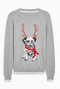Dog-Themed Christmas Jumpers {Christmas} #Next #ChristmasJumpers #DogChristmasJumpers #WomensChristmasJumpers #Christmas #Jumpers #DogThemed www.scruffylittleterrier.com