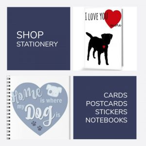 Shop Stationery {Shop} #Stationery #Notebooks #Stickers #Postcards #Cards #DogGifts #Shop www.scruffylittleterrier.com