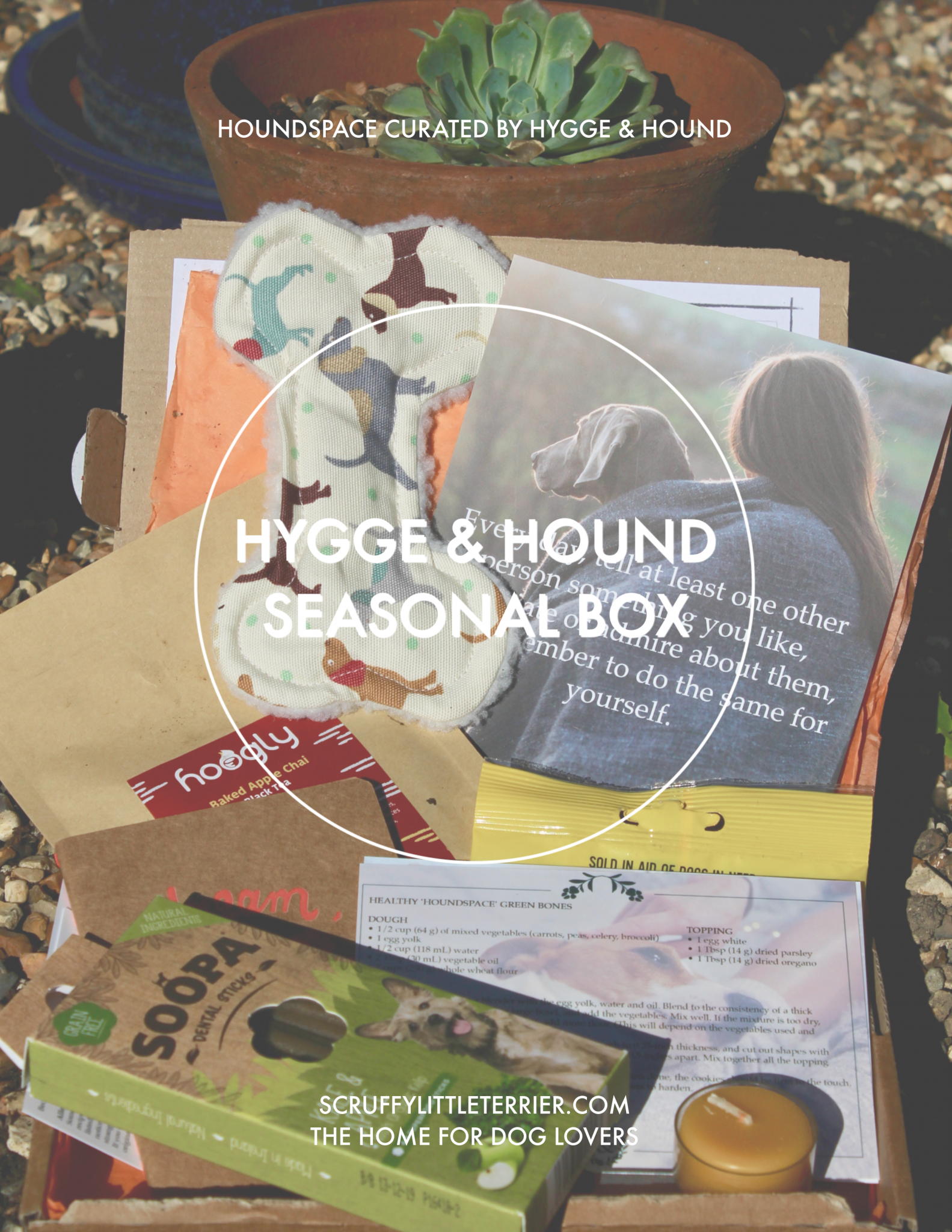 Hygge & Hound {Dog Product Review} #Hygge&Hound #DogFriendly #Mindfulness #Hygge #DogTreats #Houndspace www.scruffylittleterrier.com